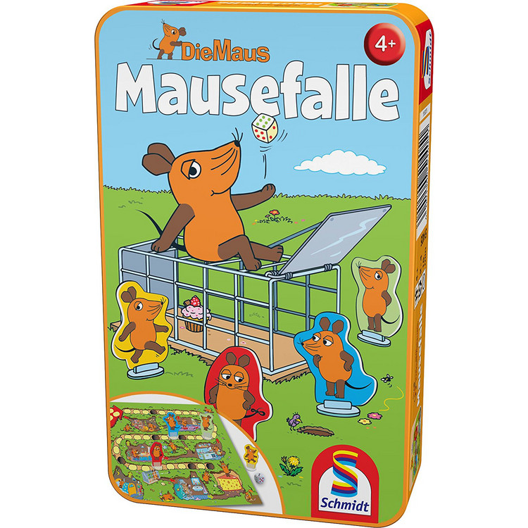 Die Maus: Mausefalle (Metallbox)