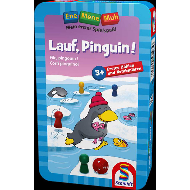 Lauf, Pinguin! (Metallbox)