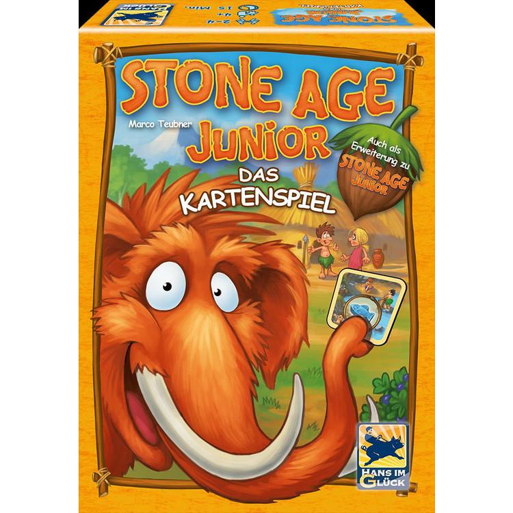 Wo Ist Das Gehirn Kartenspiel Buecherde: Stone Age Junior: Das Kartenspiel (MBS)