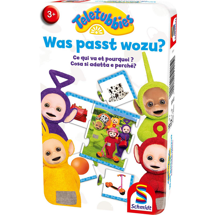 Teletubbies: Was passt wozu? (Metallbox)