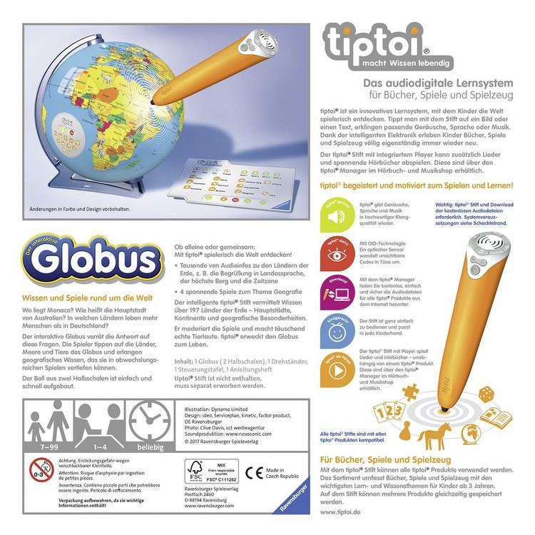 Spiel Globus