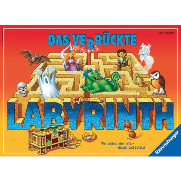 Das Verrückte Labyrinth Spielregeln