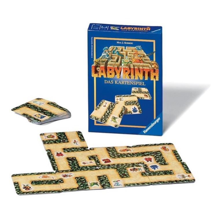 Labyrinth Kartenspiel Anleitung