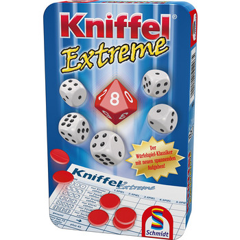 Kniffel: Extreme (Metallbox)