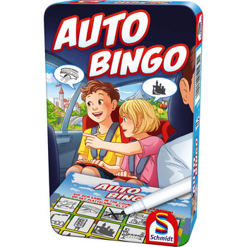 Auto-Bingo (Metallbox)