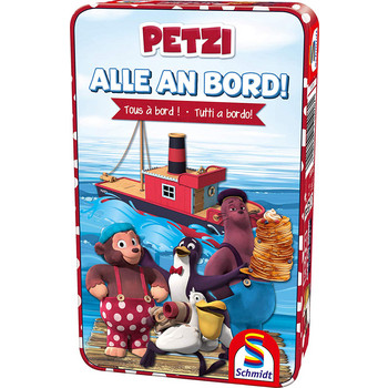 Petzi: Alle an Bord! (Metallbox)