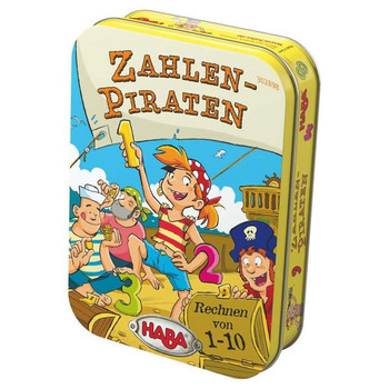 Zahlen-Piraten (Metallbox)