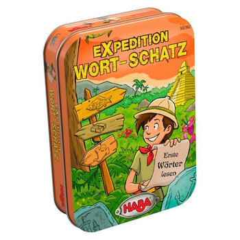 Expedition Wort-Schatz (Metallbox)