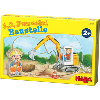 1, 2, Puzzelei: Baustelle