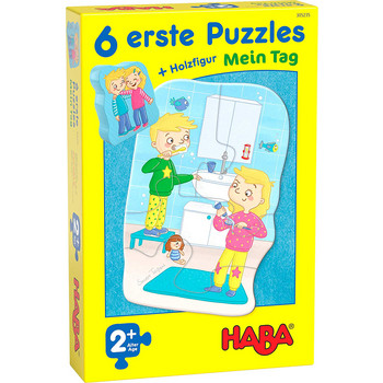 6 erste Puzzles: Mein Tag