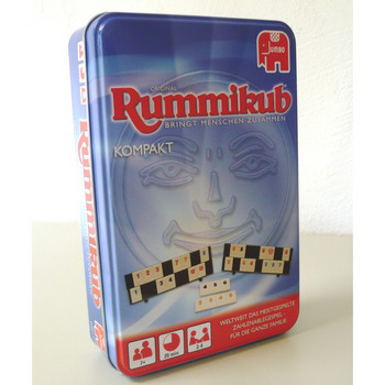 Rummikub Kompakt Original (Metallbox)