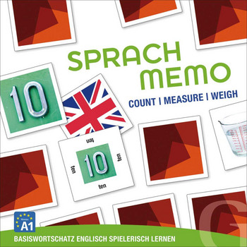 Sprachmemo Englisch: Count / Measure / Weigh